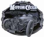 MORGAN MOTORCYCLE BELT BUCKLES